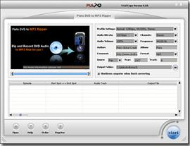 DVD to MP3 Software -- Plato DVD to MP3 Ripper,Rip DVD Audio to MP3 files ,Record DVD Movie Audio Content to MP3