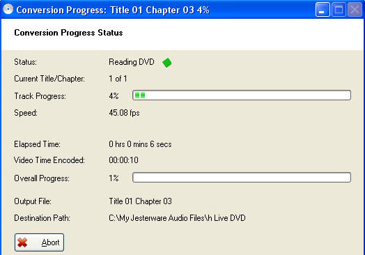 DVD to PSP Quick Start Guide Jestware4