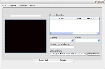 DVD to iPhone Converter is the fastest DVD movie to iPhone video converter software