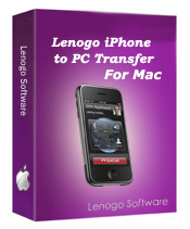 Lenogo iPhone to PC Transfer for Mac enables you to transfer your music from Apple iPhone to Mac completely and easily.