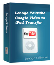 Youtube/Google Video to iPod Transfer enables users to transfer any youtube or google video straight to their iPods.