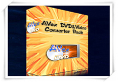Avex DVD & Video Converter Pack combines DVD Ripper Platinum, Video Converter Platinum and all DVD to iPod, PSP, 3GP, Zune Video Suite into one at steep discount