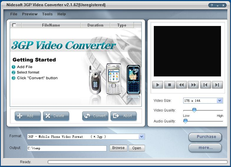 Free 3GP Video Converter - Download
