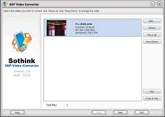 Sothink 3GP Video Converter: Convert Video to 3GP for Mobile